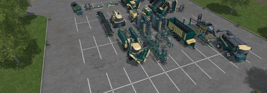 Krone, NH, Horch Mix Pack V2 By Eagle355th