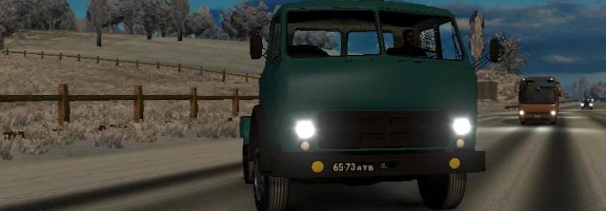 MAZ 504 Classical Russian Truck 1.23-1.24