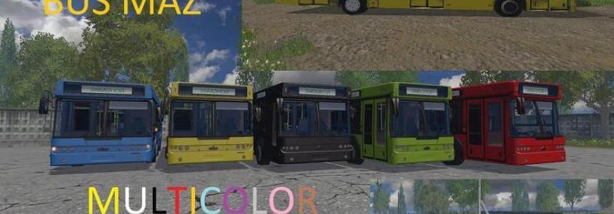 Maz bus MULTICOLOR v3.1