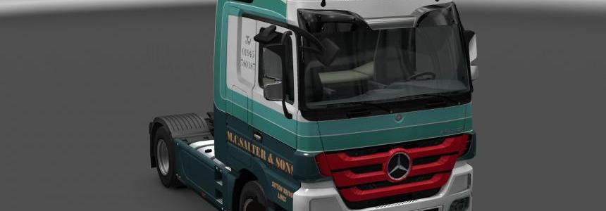 Mercedes Actros MP3 M.C.Salter & Sons 1.24