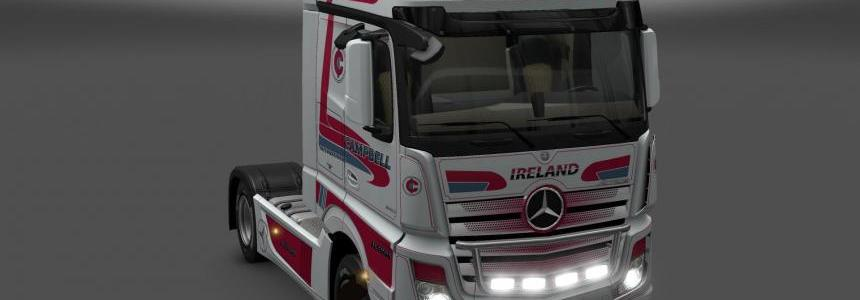 Mersedes Benz New Actros Campbell skin 1.24