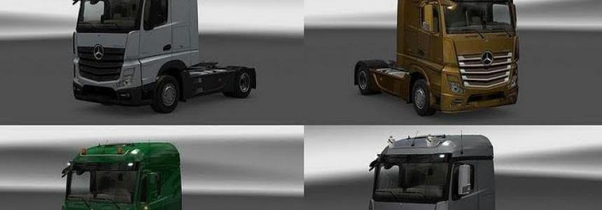 New Actros plastic parts and more v3.7.1