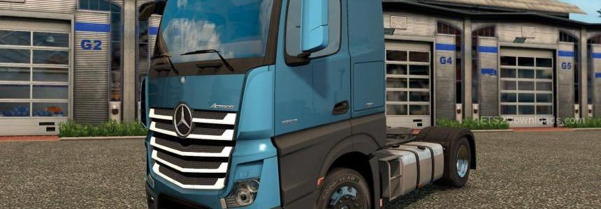 New Plastic Parts for Mercedes Benz New Actros v3.4.4