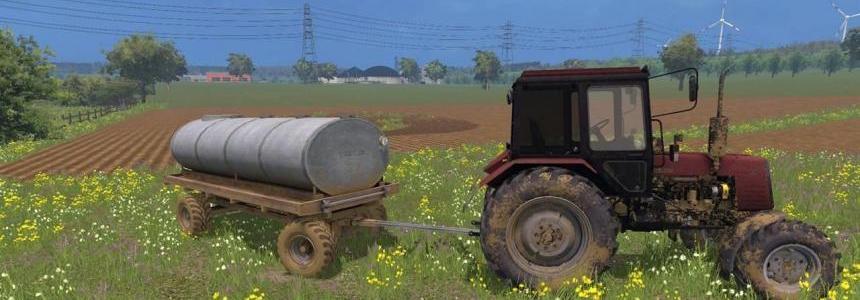 Old Tank trailer v1.0