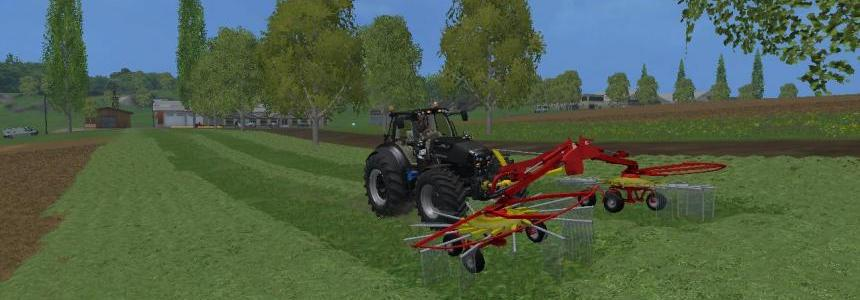 Poettinger Front Windrower v1