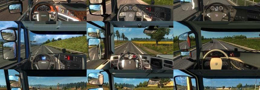 Real Interior Cams ETS2 v1.3.3 1.24