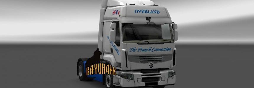 Renault Premium Overland skin 1.24