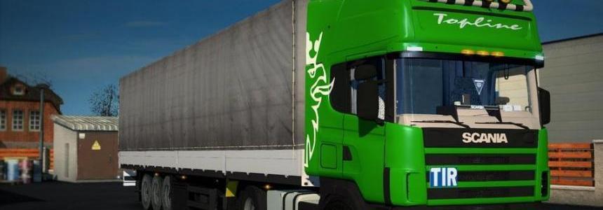 Scania 124L + Schmitz