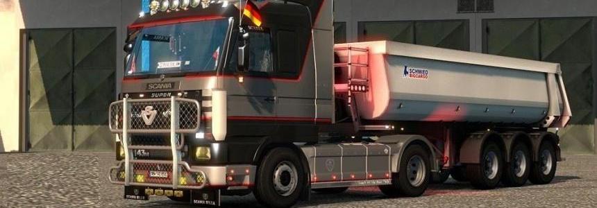Scania 143m v3.7 for 1.24