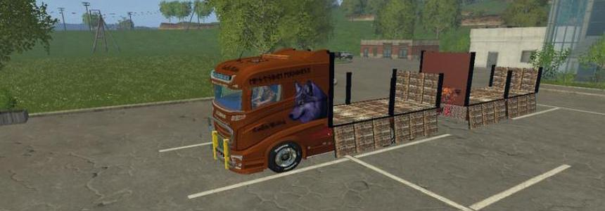 Scania flatbed Pack v1.0