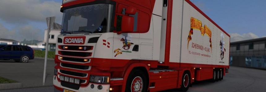 Scania Frank De Ridder with Schmitz trailer  1.24