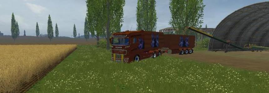 Scania R 1000 tipper Gliederzug v1.0