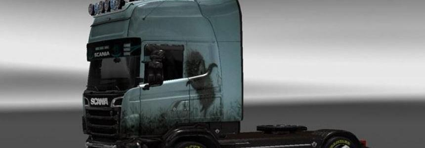 Scania R 2009 Hedgehog in the Fog Skin 1.23