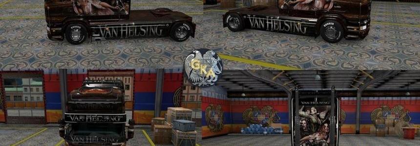 Scania R&S Aleera Van Helsing Skin