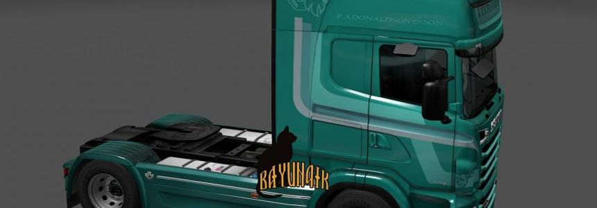 Scania R&S Topline I.T.S.Transport skin 1.24