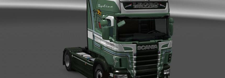 Scania R&S Topline Legro skin 1.24