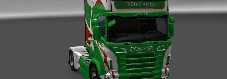 Scania R&S Topline Nielsen skin 1.24