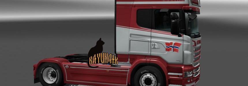 Scania R&S Topline Rene Bosch skin 1.24