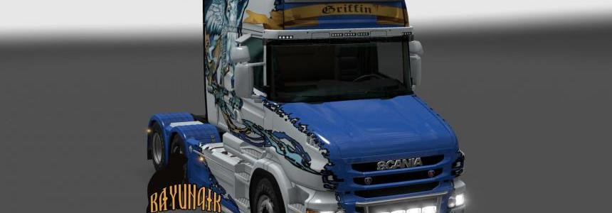 Scania T series Griffin skin 1.24