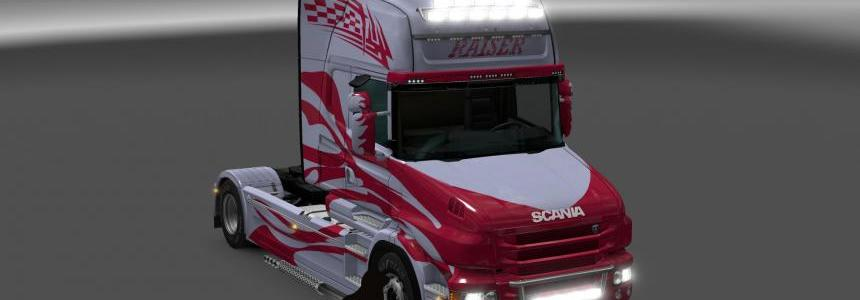 Scania T series Topline Raiser skin 1.24