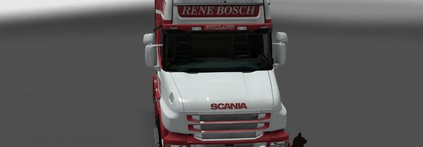 Scania T series Topline Rene Bosch skin 1.24
