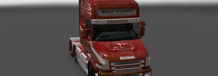 Scania T series Topline Ronny Ceusters skin 1.24