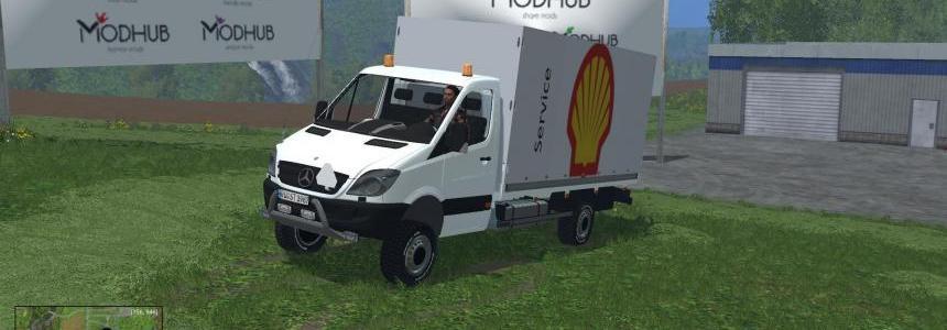 Shell Service busje