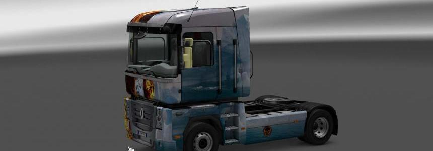 Skin Renault Magnum Fire and Ice 1.24.x