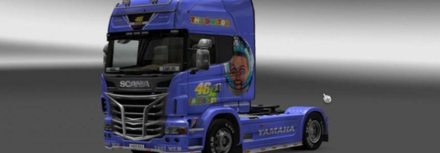 Skin Scania Valentino Rossi 1.24.x