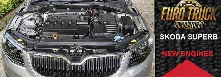 Skoda Superb – New Engines 1.24