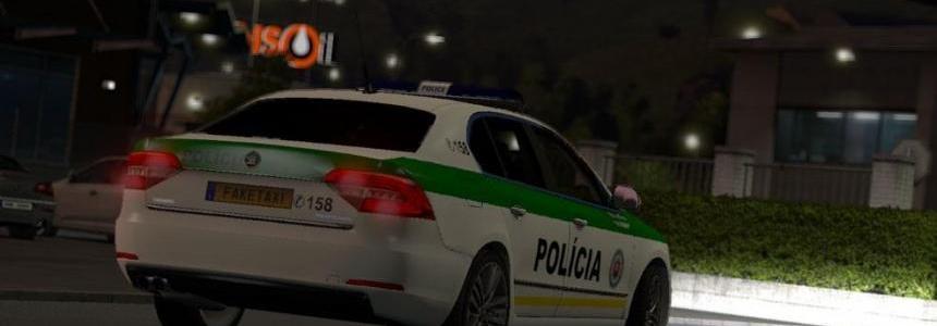 Skoda Superb SVK Police v2.0
