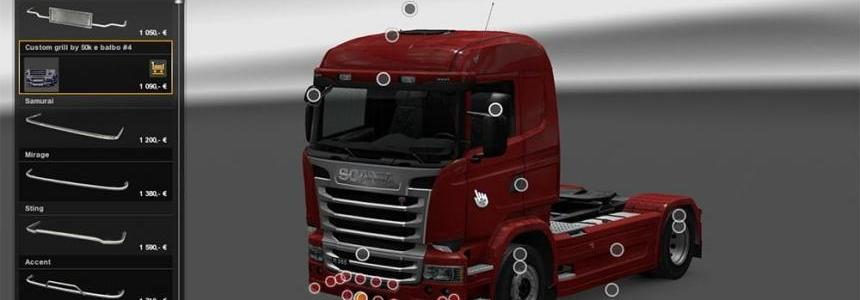 Slots for Alls trucks SCS