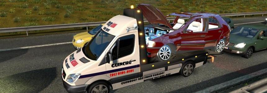 Spec Vehicles in traffic Tow trucks for 1.24.x