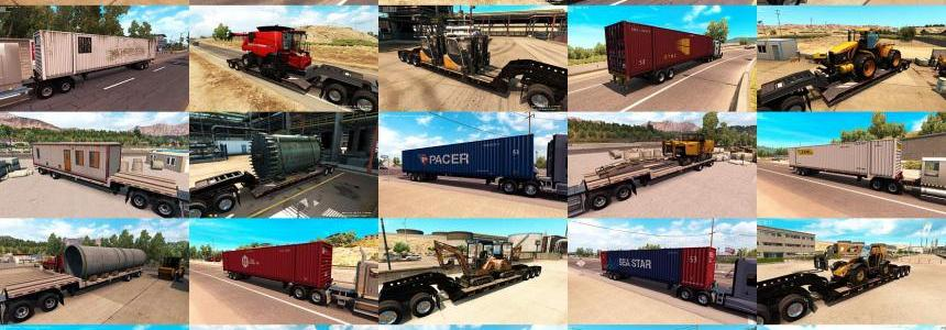 Trailers and Cargo Pack by Jazzycat  v1.1.1