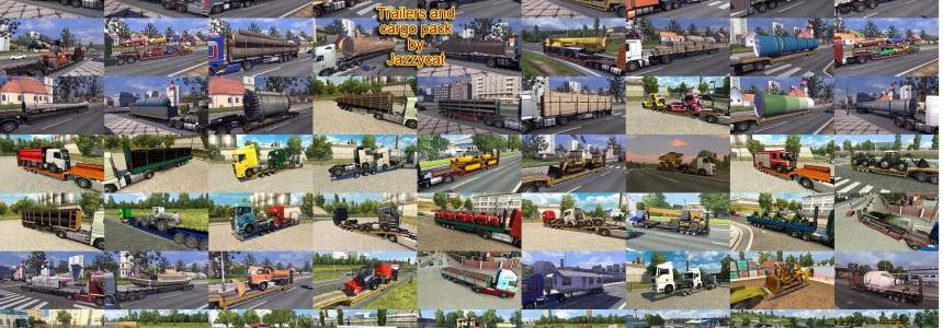 Trailers and Cargo Pack by Jazzycat  v4.0