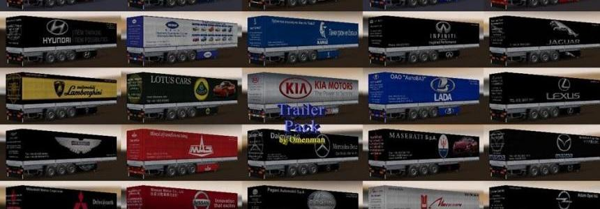 Trailers Pack Car Brands v5.4