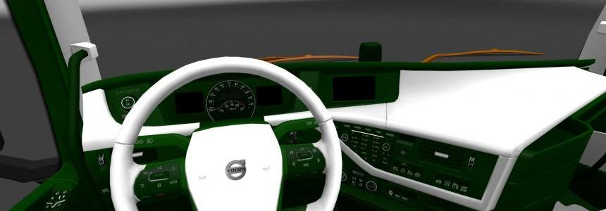 Volvo 2012 White / Green Interior