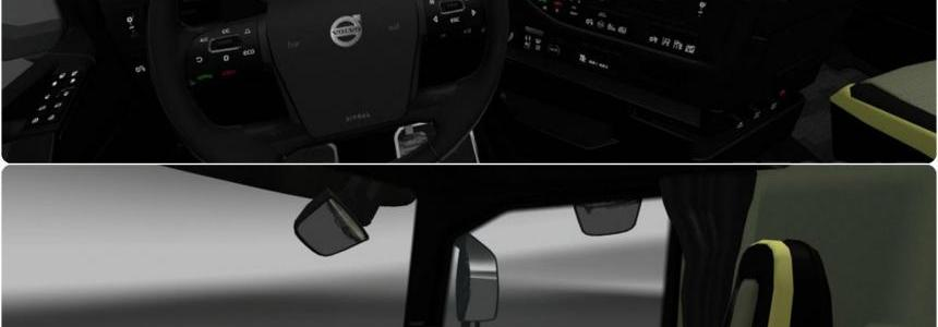Volvo FH16 2012 Black Interior 1.24