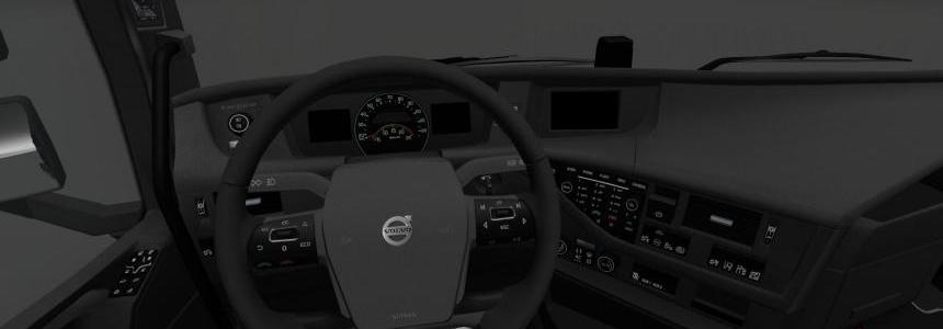 Volvo FH16 2012 Dark Interior v1