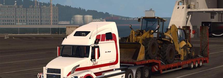 Volvo VNL670 v1.4.3 for ETS2