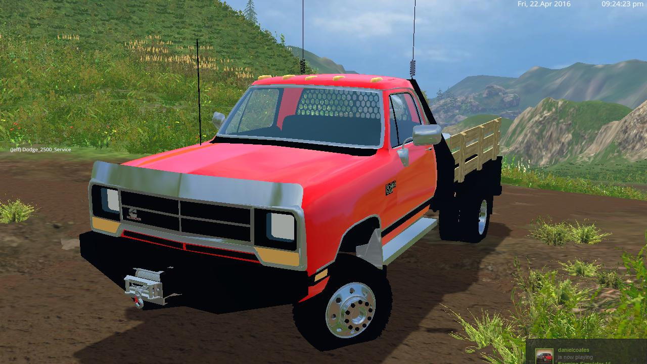 dodge d250 flatbed dually v1 0 modhub us rh modhub us