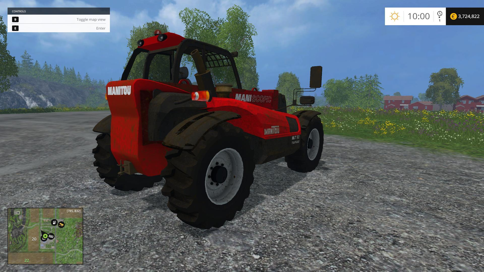 Manitou Mlt 731 manual
