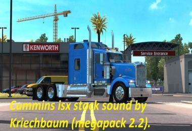 Cummins iSX Stock Sound for W900