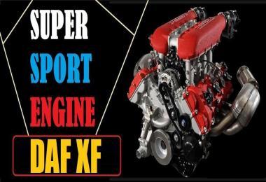 DAF XF Super Sport Engine