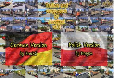 German & Polish versions for Trailers and Cargo by Jazzycat v4.0