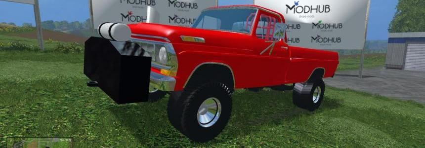1972 Ford Highboy Puller *edit* v1