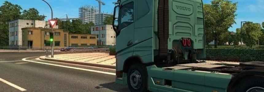 Exhaust Smoke for Volvo FH16 2012