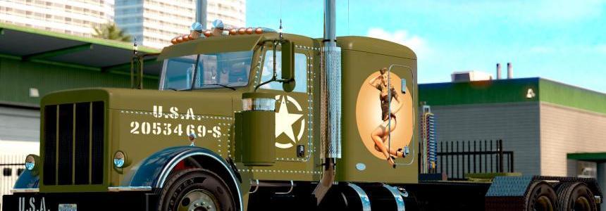 WW2 Peterbilt Pinup Style v1.5