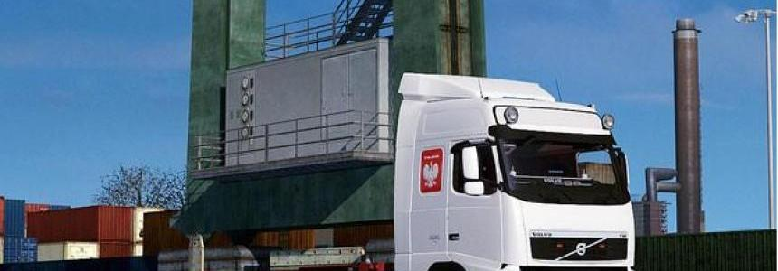 Volvo FH 13 Globetrotter + Container Platform