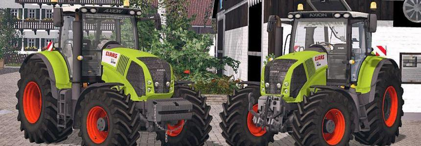 Claas Axion 850 Pack V2
